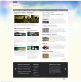 Wordpress темплейт - Meta-morphosis