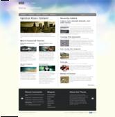 Wordpress темплейт - Meta-morphosis