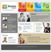Уеб темплейт за бизнес уеб сайт
