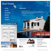Уеб темплейт за сайт за недвижими имоти