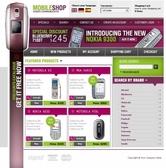 Изработка на онлайн магазин за GSM апарати