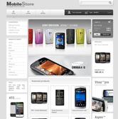 Безплатен темплейт за онлайн магазин за мобилни телефони