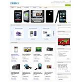 mEbay - Безплатен Magento темплейт